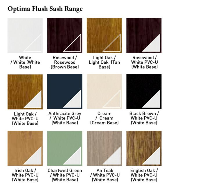 Optima Flush Sash Range